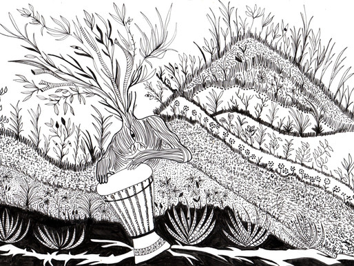 El tambor y la tierra> Natasha Himelfarb