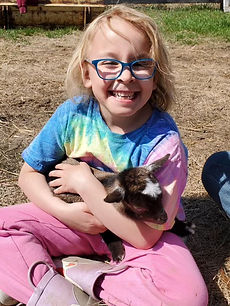 Lylah and baby goat.jpg