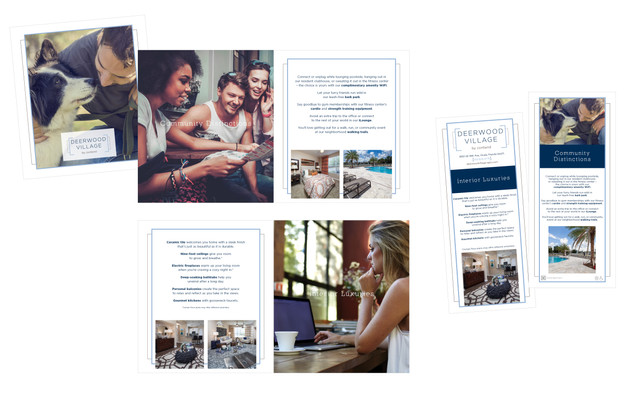 Deerwood Village: Marketing Collateral