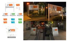 METROPOLITAN: Marketing Signs