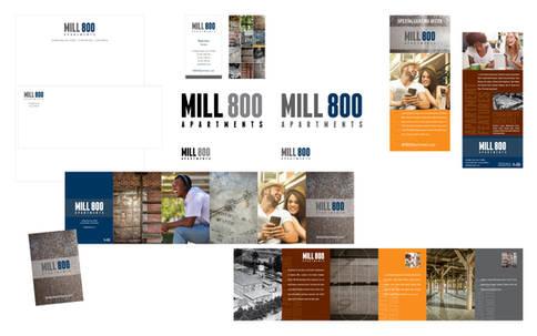 Mill800: Naming, Logo Design, Branding