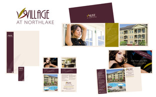 Village at Northlake: Logo and Marketing Collateral