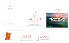AdFish Group: Logo and Branding Package
