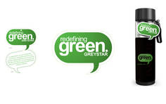 Greystar: Green Campaign Naming, Logo and Branding