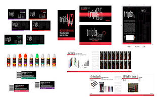 Tripl3: Logo, Branding and Package Design