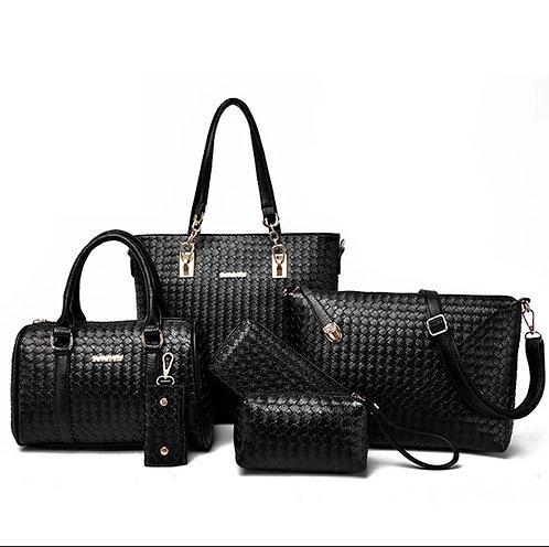 Lady Handbag 6-in-1