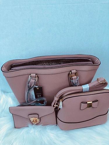 3 pieces Women's Tote handbag set