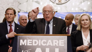 MEDICARE-FOR-ALL GETS TRACTION