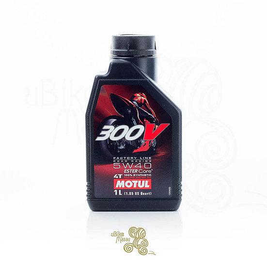 MOTUL 300v 4T RACING MOTOR OIL 5W40