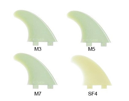 FCS Replacement Glass Flex Fins