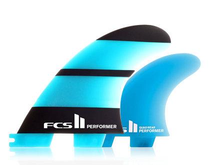 FCS II Performer Neo Glass Tri-Quad Set