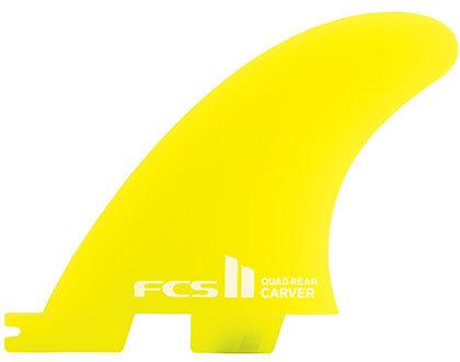 FCS II Carver Neo Glass Quad Rear Set