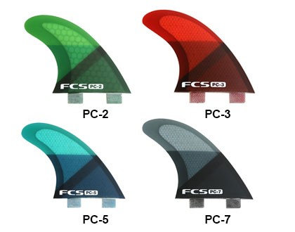 FCS Performance Core Replacement Tri Fins