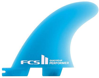 FCS II Performer Neo Glass Quad Rear Set