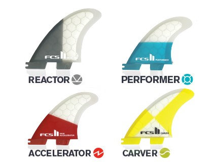 FCS II Performance Core Replacement Tri Fins