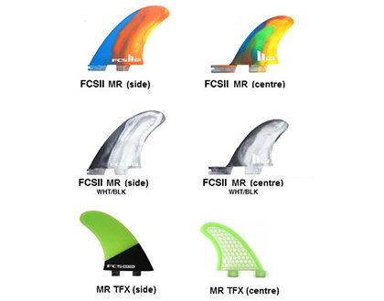 FCS Replacement Speciality Fins