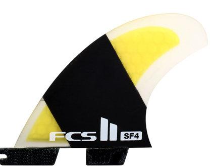 FCS II SF4 PC Carbon Quad Set