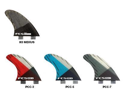 FCS Ultralight Replacement Tri Fins