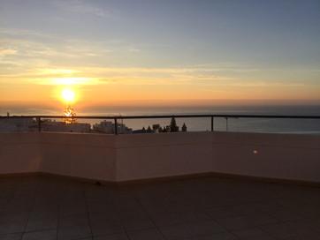 Sunrise on Terrace