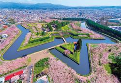 Hakodate Goryokaku Sakura VISIT JAPAN