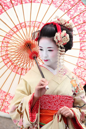 Geisha / maiko woman VISIT JAPAN
