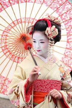 Geisha / maiko woman VISIT JAPAN