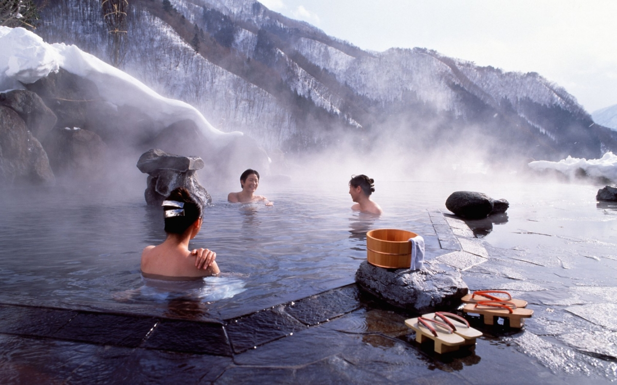 Onsen in winter VISIT JAPAN