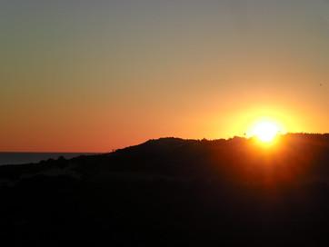 Coucher de soleil sur Luz