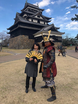 Samurai VISIT JAPAN
