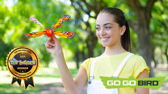 Go Go Bird Butterfly Is a Toy Insider Top Holiday Toy Award Winner!