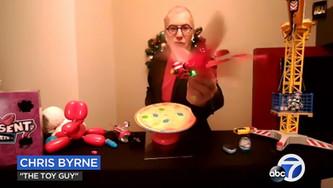 Go Go Bird Featured on KGO-TV with Chris Byrne, aka The Toy Guy!