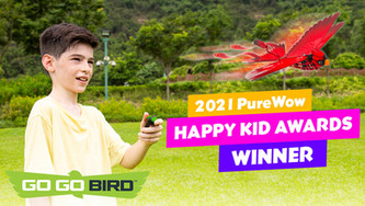 Go Go Bird is a 2021 PureWow Happy Kid Award Winner!