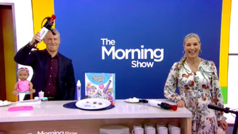 Marshmallow Blaster Extreme Blaster on The Morning Show with Toy Insider's Laurie Schacht!