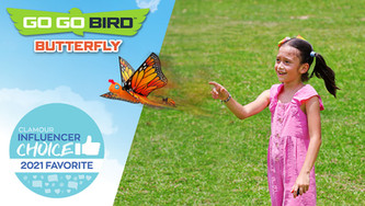 Go Go Bird Butterfly Is a 2021 Influencer Choice FAVORITE Toy!