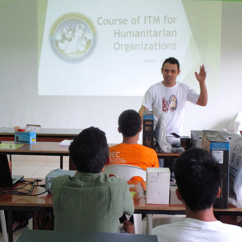 Calbayog - Course of ITm w Bro Claudemir