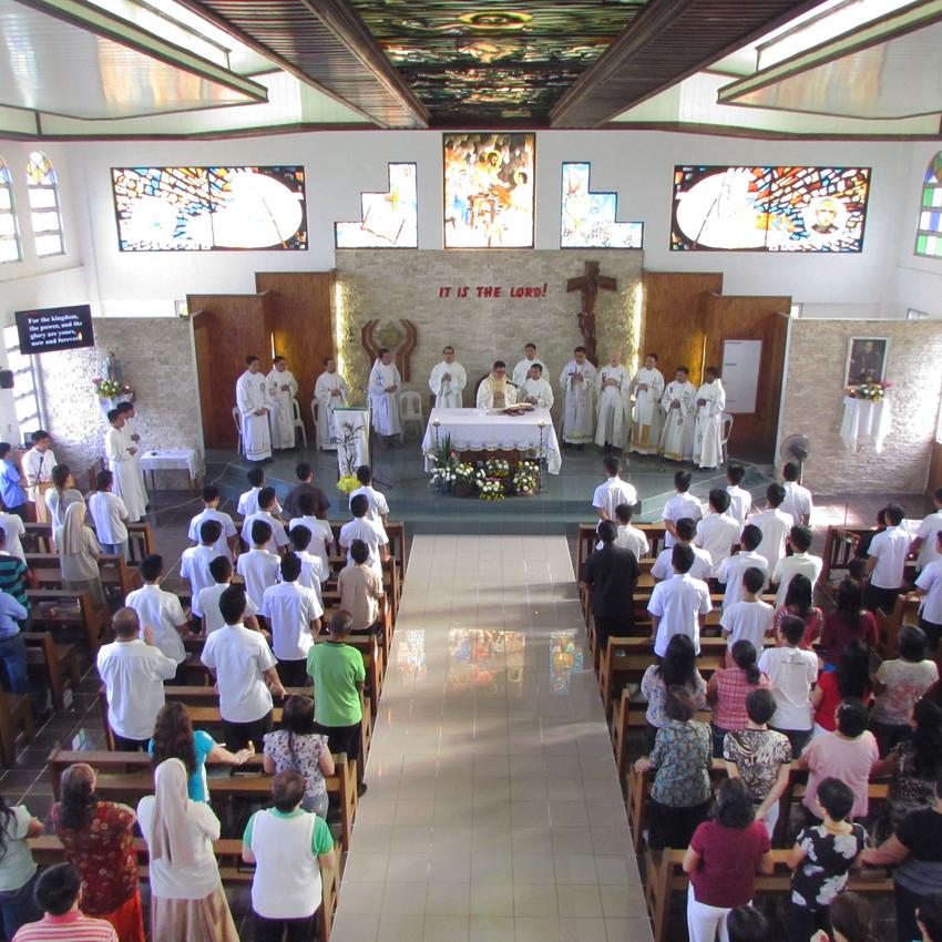 Eucharistic Celebration at NFH Chapel