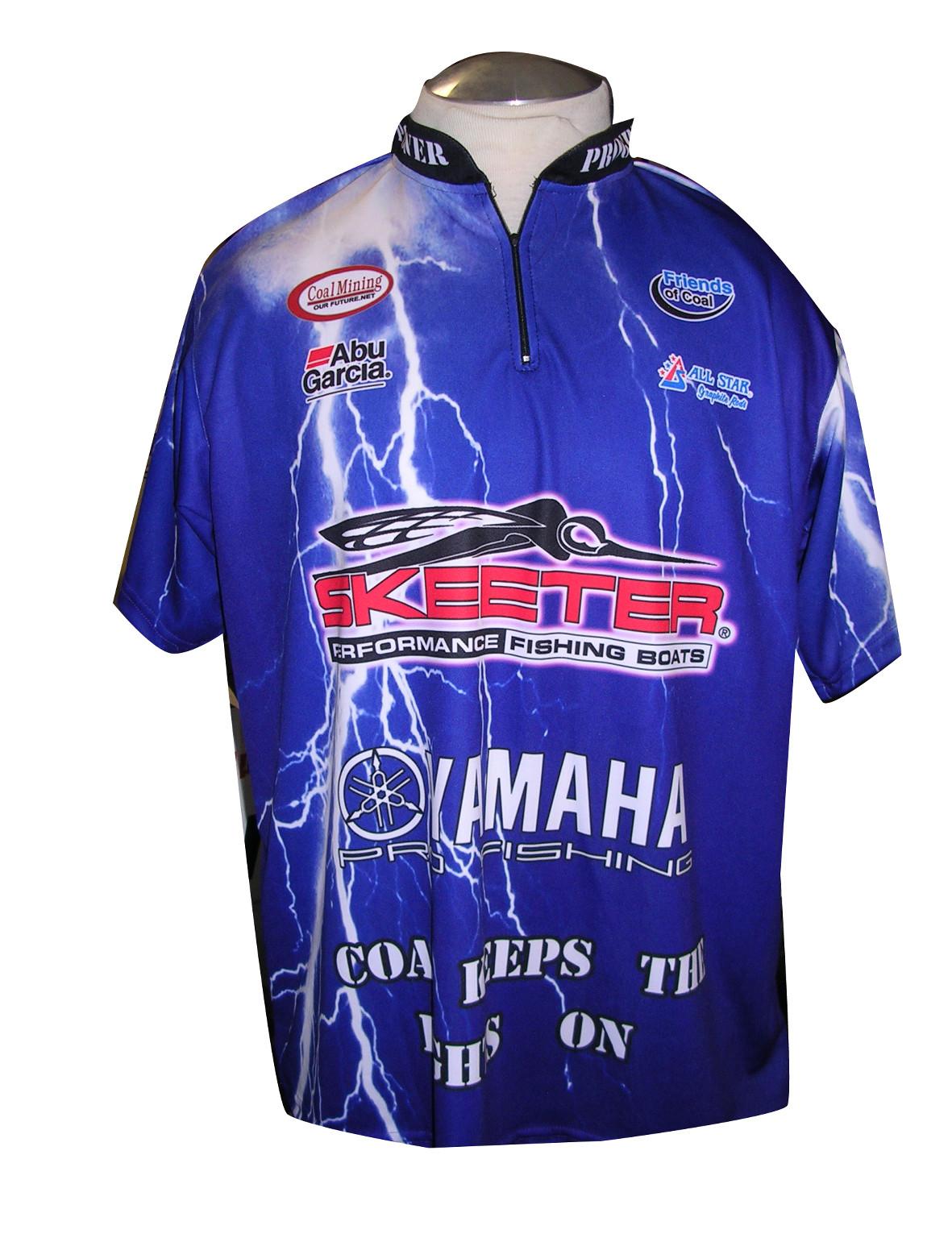 Custom sublimated fishing jerseys bass fishing jerseys for Custom fishing shirts