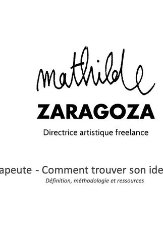 E-larning avec Mathilde Zaragoza