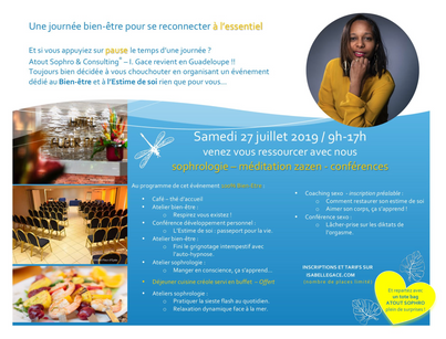 Programme journée bien-être en Guadeloupe