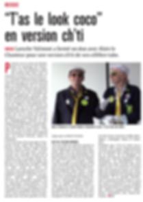 ARTICLE ALAIN LE CHANTEUR LAROCHE VALMONT le courrier picard 23 09 2018