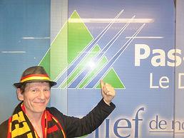 ALAIN LE CHANTEUR et le logo du PAS DE CALAIS