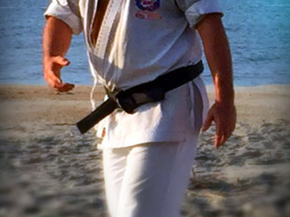 Wrightsville Beach is a Great Place to Practice Early AM Karate