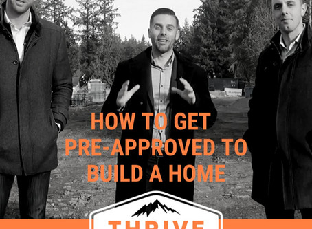 Build Your Dream Home - How to get Financing?