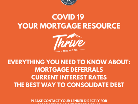 Coronavirus Mortgage Resources: Mortgage Deferrals & Your Mortgage Questions