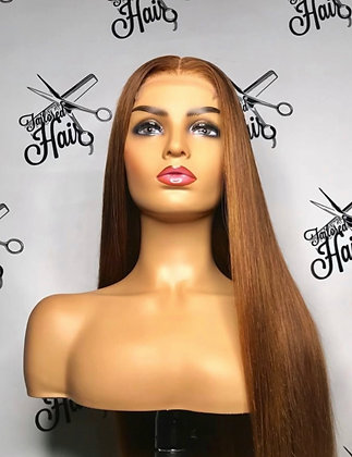 ginger lace front wig