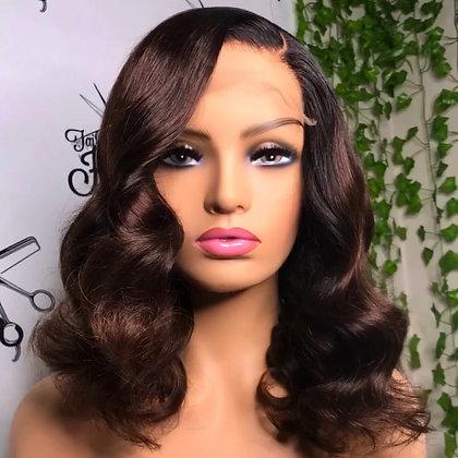 chocolate brown wig