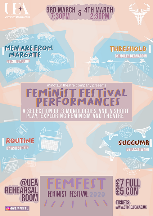 FemFest 2020 performances poster