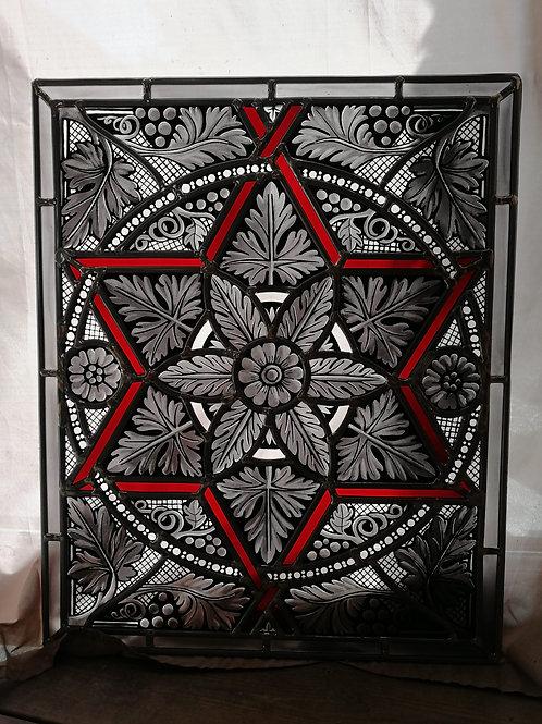 Cistercien noir et rouge