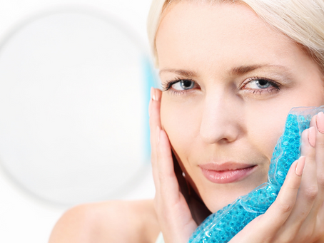 The Secret To Better Skin: Ice for Cold Compress