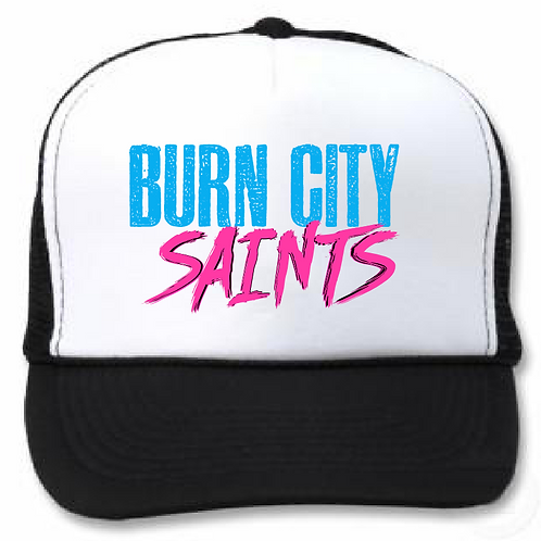 Trucker Cap - 'Neon City'